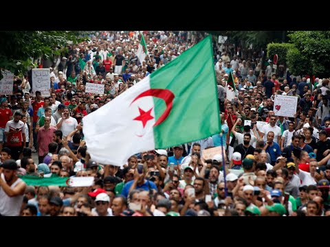 Algerians Protest Against Government-Organized Elections
