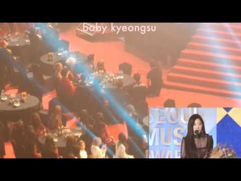 170119 EXO reaction to Taeyeon 26th Seoul...