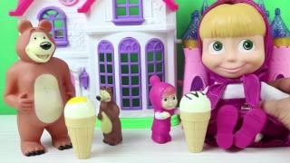 Maşa ile Koca Ayı Şeker Makinasından Geçebilecek'mi? Maşa Çizgi Film