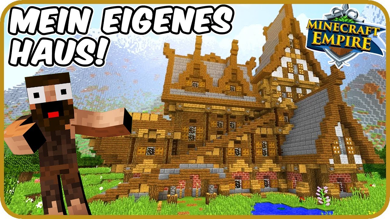 mein eigenes haus minecraft empire 53 mit clym youtube. Black Bedroom Furniture Sets. Home Design Ideas