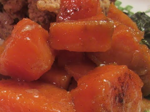 HOW TO MAKE CANDIED SWEET POTATOES (STOVE TOP WAY)