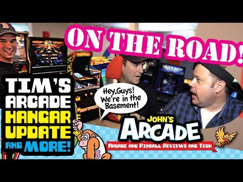 On the Road! Tim's Arcade. Hangar Update. And... Cloak and Dagger comes down!