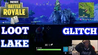 Fortnite: Battle Royale | ** NEW SECRET UNDERGROUND GLITCH IN LOOT LAKE**