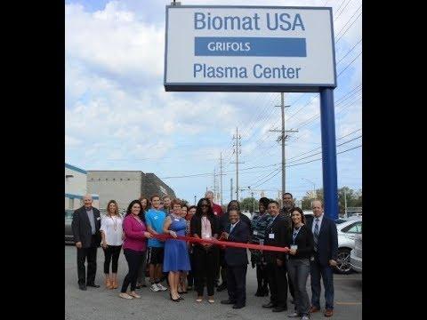 Biomat Grifols Plasma Center 2 min