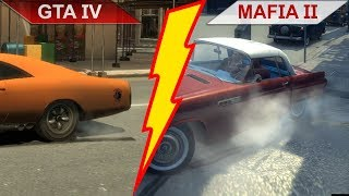 BIG BATTLE: GTA IV (2008) vs. MAFIA II (2010) COMPARISON 2 | PC | ULTRA
