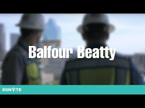 Egnyte in Construction: Balfour Beatty