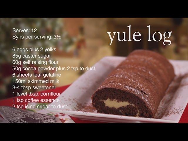Slimming World Yule Log Recipe 3 12 Syns Youtube