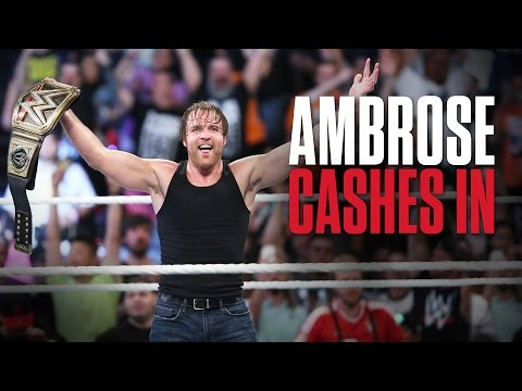Dean Ambrose wins the WWE World Heavyweight Title at WWE Money in the Bank- What you need to know...