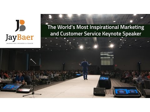 Jay Baer Inspirational Marketing and Customer Service Keynote Speaker - Full Demo
