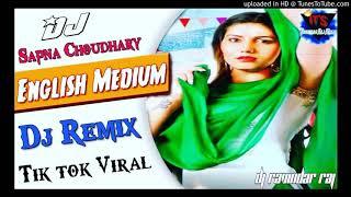 Main English Medium Padhi Hui Remix Sapna Choudhary Ft.Ravindar Raj Music !! New Haryanvi Dj Song !!
