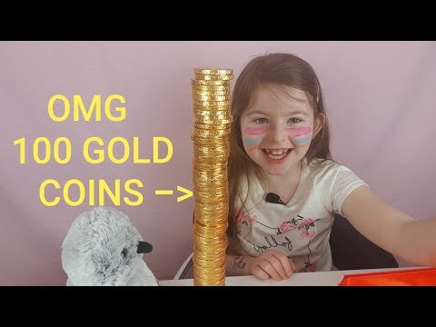LACIELOUCHANNEL .100 CHOCOLATE COINS  MMMMM