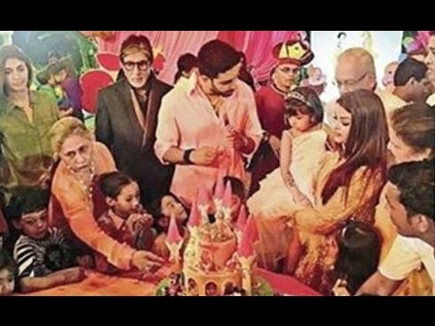 Aaradhya Bachchan Birthday Party 2016 - Aishwarya Rai And Abhishek Bachchan Host Grand Party
