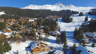 Immobilier de prestige - 4 nouveaux chalets skis aux pieds à Méribel