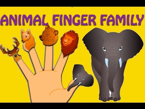 Thumbnail: Animal Finger Family - Nursery Rhymes For Children