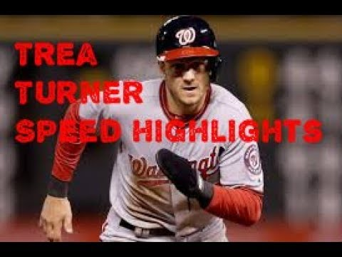 Trea Turner Speed Highlights