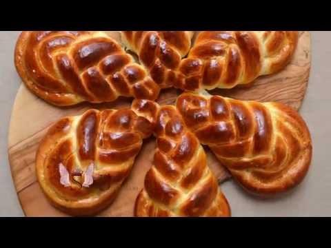 "Sweet bun ""Easter flower"" (personal idea of SugarBreads)"