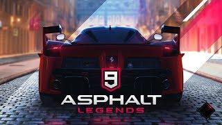 LANÇAMENTO! Asphalt 9: Legends - Modo Carreira - Jogo para Celular e Pc