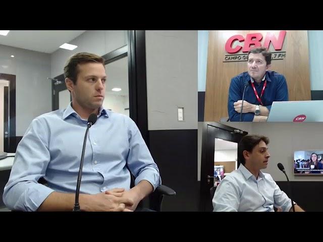 ENTREVISTA CBN CAMPO GRANDE: Lucas Goulart e João Soares - Fundadores da Rio Negro Investimentos