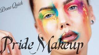 Done Quick - Pride Makeup   Linda Hallberg Tutorial thumbnail