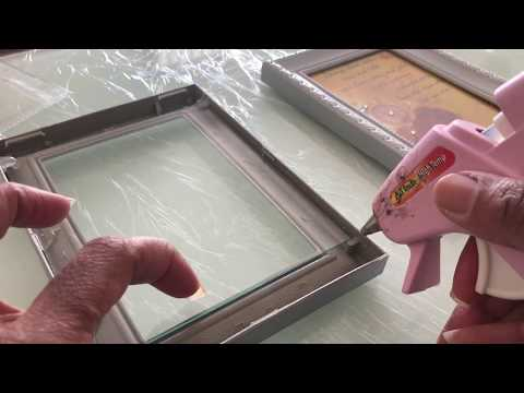 Shadow Box Dollar Tree DIY With Picture Frames