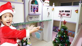 Decorating Kids Room for Merry Christmas