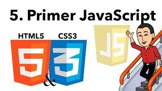 Curso Básico de HTML y CSS 05 -Primer Javascript-