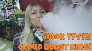 Smok TFV12 Tank Cloud Beast King - VAPING AT 180WATTS! | TiaVapes
