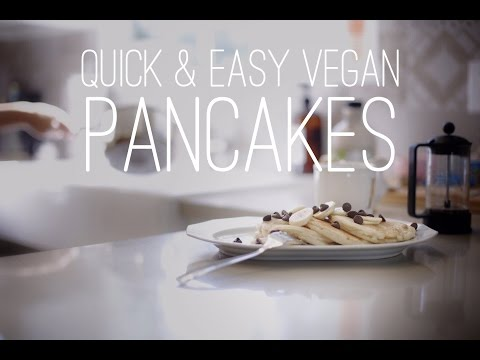 Quick & Easy Vegan Recipes with Daniella Monet  Pancakes