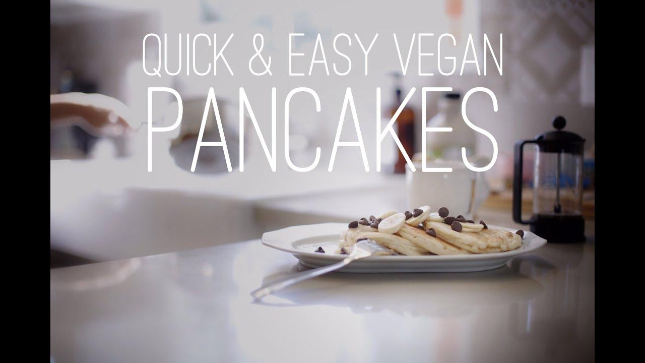 Quick easy vegan recipes with daniella monet pancakes youtube ccuart Choice Image