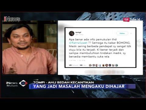 Tanggapi Hoaks Ratna Sarumpaet, Tompi: Masalahnya karena Ngaku Dihajar - iNews Malam 03/10