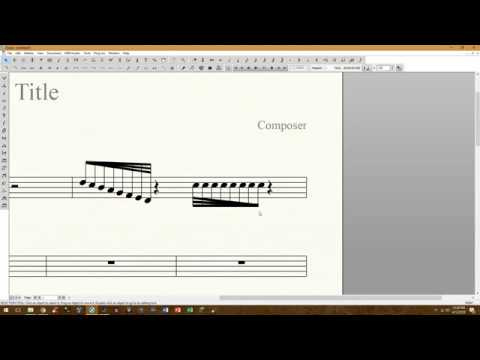 Finale v25.5: Feathered Notation