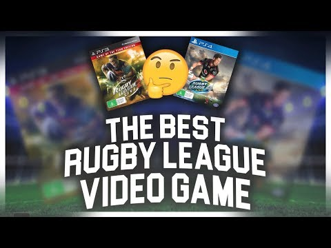 THE BEST RUGBY LEAGUE VIDEO GAME EVER!