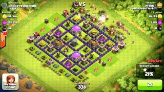 Clash of Clans Free Shield Using Town Hall Defense