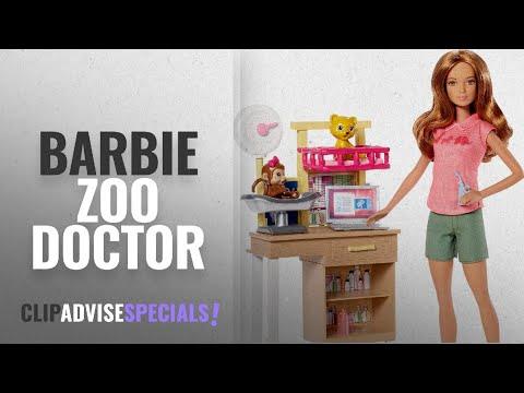 Top 10 Barbie Zoo Doctor [2018]: Barbie Zoo Doctor Playset