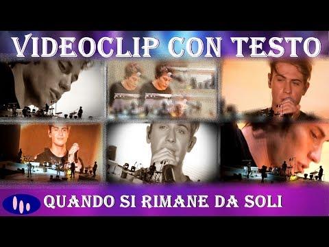 QUANDO SI RIMANE DA SOLI  BENJI� testo e videoclip (concerto Forum Assago)