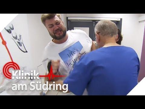 Vater bricht bei Geburt seines Kindes zusammen | Klinik am Südring | SAT.1 TV