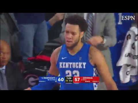 MBB: Kentucky 78, Georgia 69 Highlights