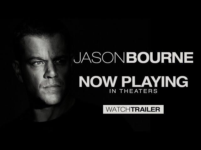Jason Bourne - Tráiler oficial (HD)