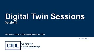 Digital Twin Sessions #4: Data as the golden thread