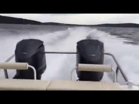 Great White 39 RIB aluminium boat, 2x350 - v8 Yamaha