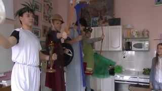 Боги Древней Греции, урок МХК в 7 классе