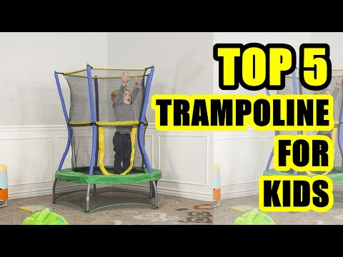 The 7 Best Indoor Trampolines for children