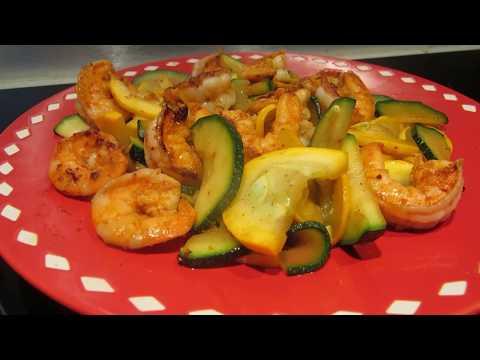 recette-crevettes-sauté-aux-courgettes---vietanddiet