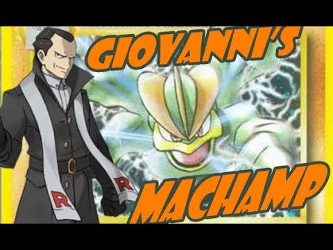 Time Capsule #16: Prevent KOs Like a Baws in Gen 2 Neo Era: Giovanni's Machamp!!