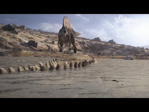 Planet Dinosaur episode 1 Lost World part 5 HD
