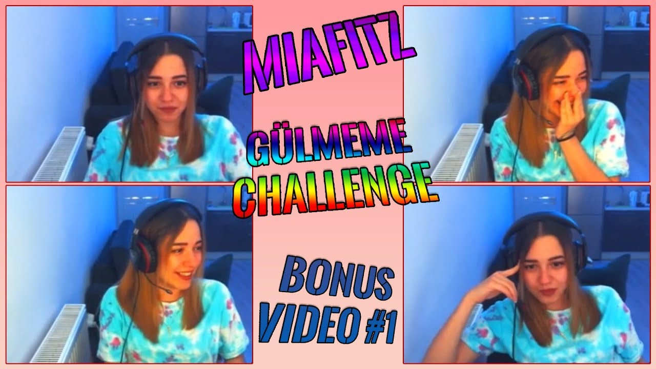 Bonus Video | MiaFitz - Gülmeme Challenge (TolgShow 2. Bölüm Komik Anlar) | (17.01.2018)