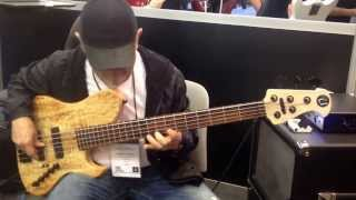 Namm Show 2014 Utrera Basses  Lalo Carrillo  Part II