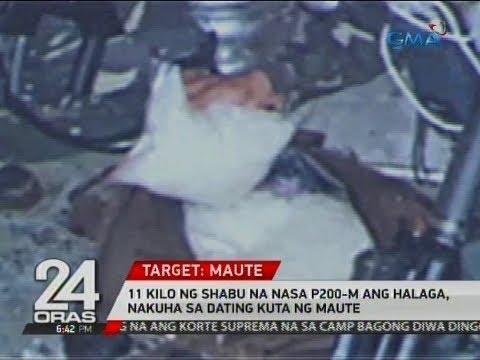 24 Oras: 11 kilo ng shabu na nasa P200-M ang halaga, nakuha sa dating kuta ng Maute