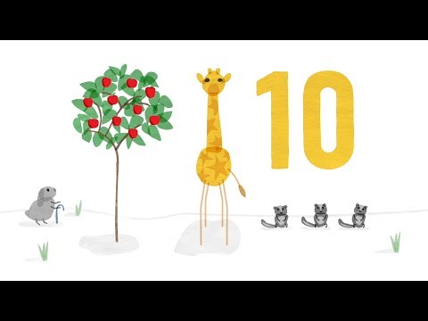 10 Apples - Counting Song with The Starry Giraffe