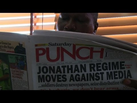 Nigeria's Military Targets Newspapers Over Security Fears